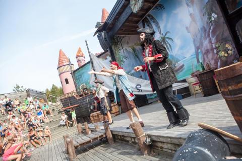 Piratteater på Daftöland
