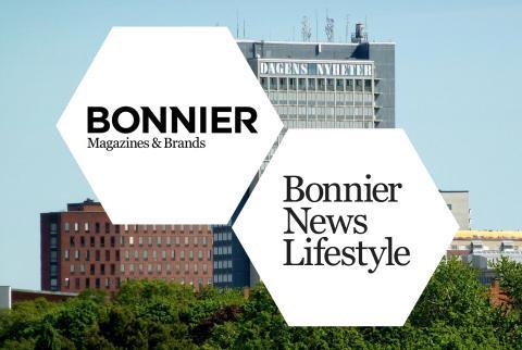 Bonniers magasin går samman