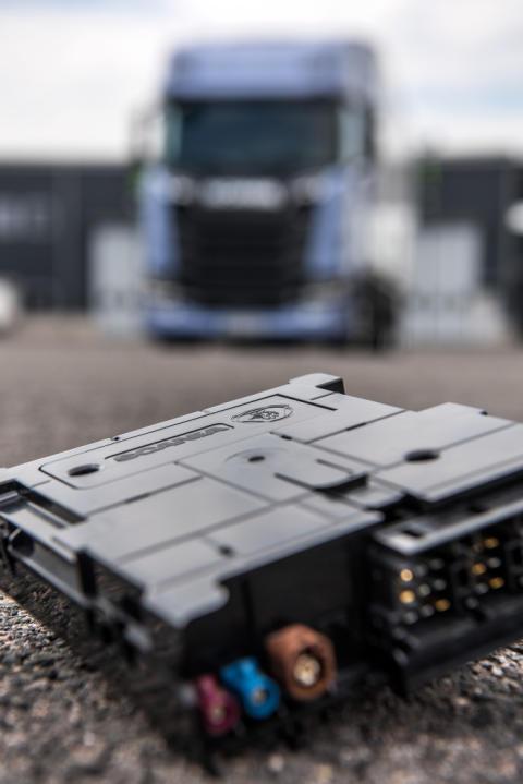 Scania Communicator für vernetzte Lösungen