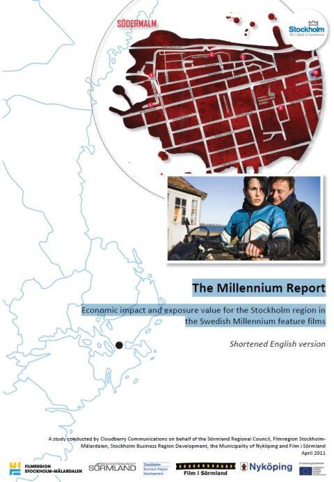 The Millennium films bring significant economic value to Stockholm region