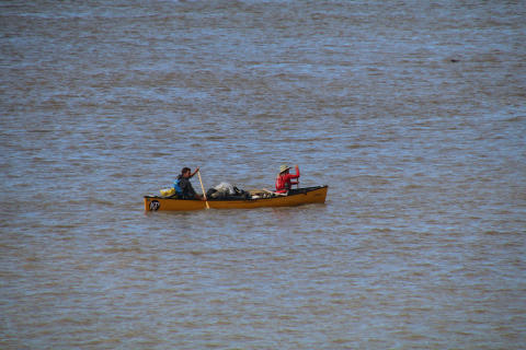 Hi-res image - Ocean Signal - Adam Weymouth and Ulli Mattsson on the Yukon river