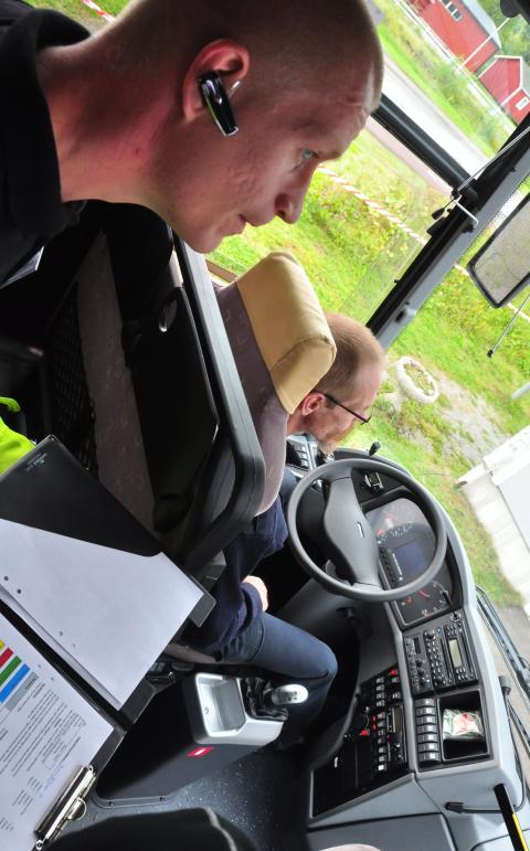 4 finalister från Nobina och Swebus i Bussförar-SM 2013