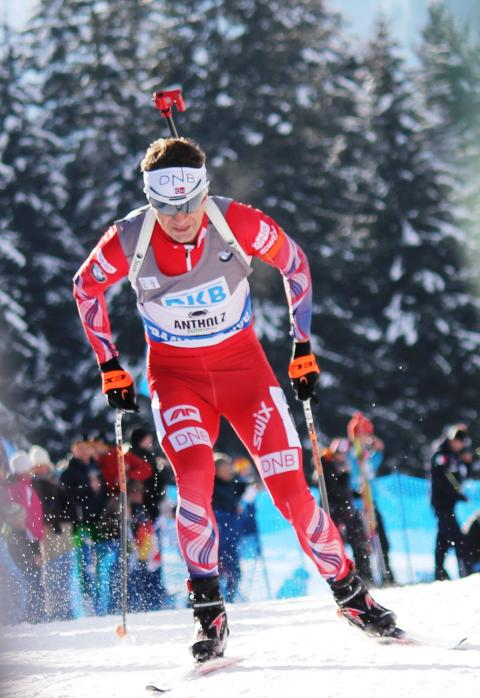 Ole Einar sprint Anterselva