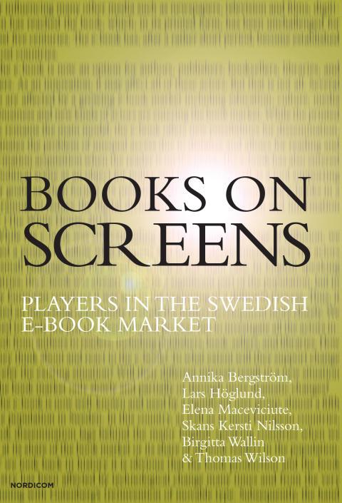 Bokomslag Book on Screens