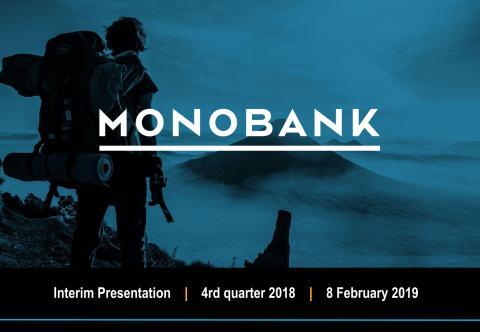 Monobank Q4 2018 Presentation