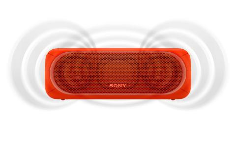 SRS-XB40 von Sony_rot_1
