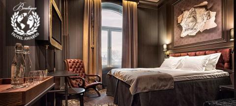 """Adventure"" room at Stora Hotellet Umeå by Stylt"