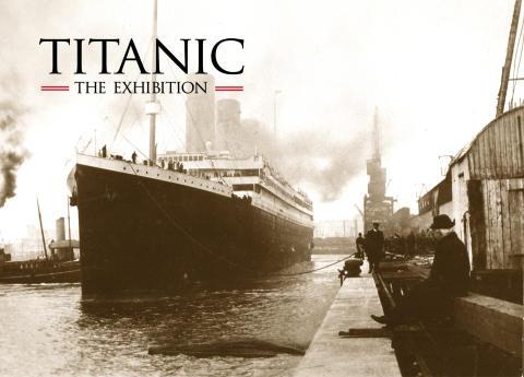 Pressträff – Titanic - The Exhibition kommer till Halmstad