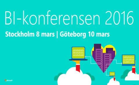 Microsofts BI-konferens 2016