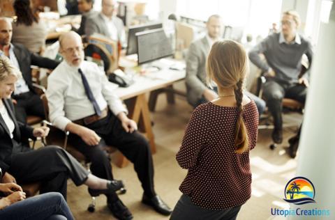 Utopia Creations host workshop on explaining the key traits for masterful leadership