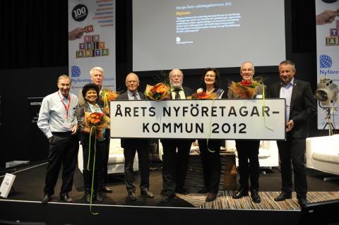 Sigtuna är Årets nyföretagarkommun 2012