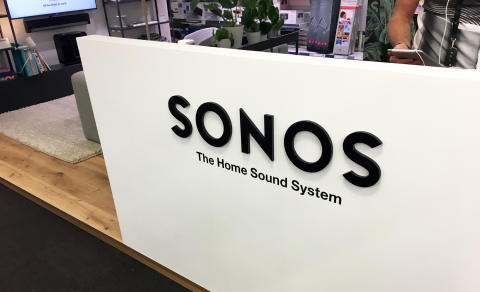 Elgiganten först i Norden med SONOS shop in shop