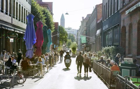 USA och Norden ökade sommarturismen till Göteborg