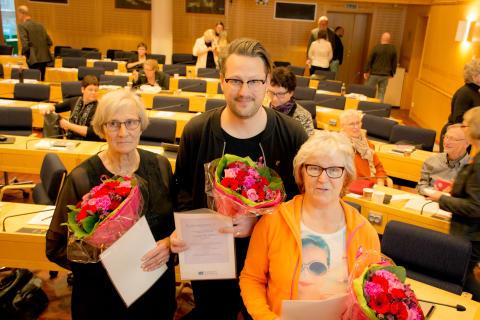 Rättelse: Folkhälsopris 2016