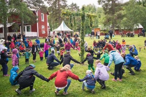Midsommar, kulturdag och auktion & antikrally på Umeå Energicentrum