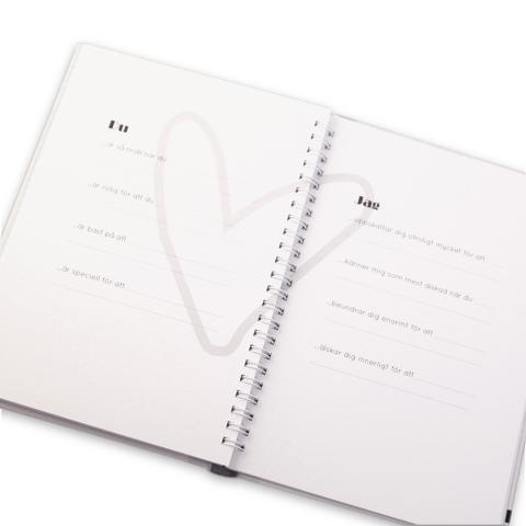 Fyll-i-bok - En kärleksförklaring, 2