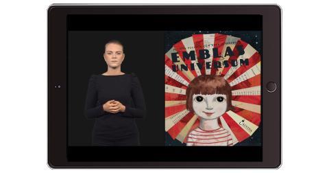 Den marknadsledande bilderbokstjänsten Polyglutt nu med TAKK- och teckenspråksfilmer