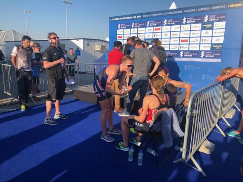 Lotte Miller i Abu Dhabi WTS 2019