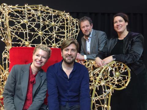 Ruben Östlund kröntes till Årets Göteborgare 2017