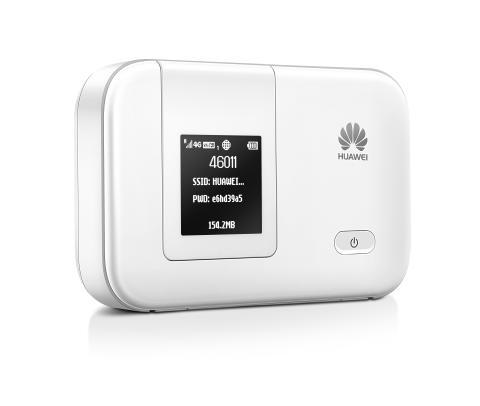 Huawei lanserar världens minsta mobila router med LTE Cat4