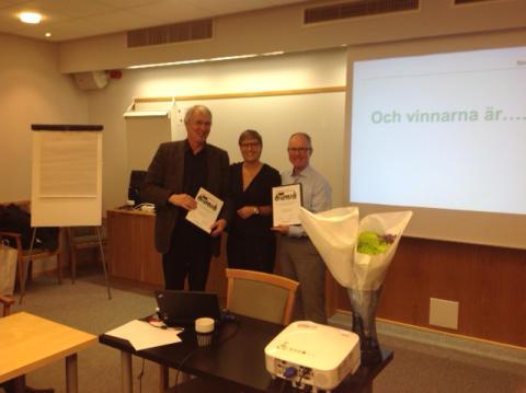 Sigtunas mest företagarvänliga politiker 2014 är Lars Bryntesson (S) och Michael Harvey (KD)