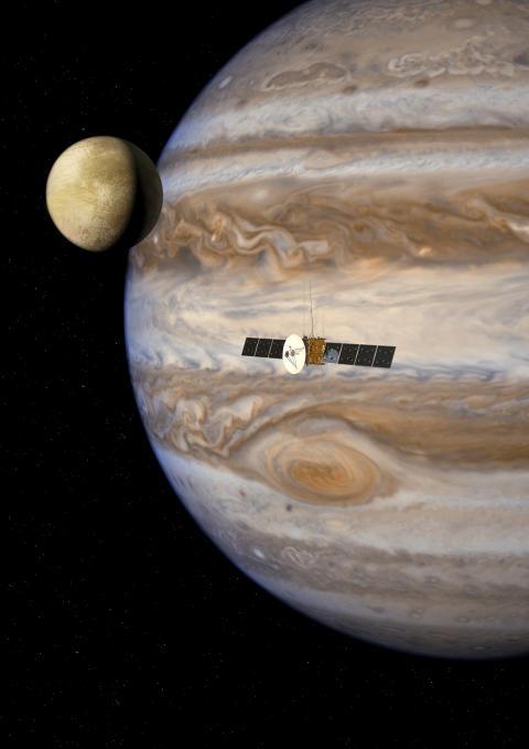 """Institutet för rymdfysik  bjuder in till en förmiddag med temat  """"IRF FLYGER TILL JUPITER"""""""