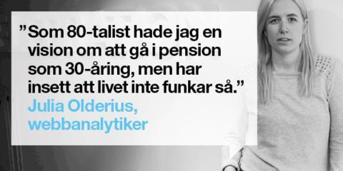 Branschprofiler avslöjar sina pensionsdrömmar i ny kampanj från PP Pension.