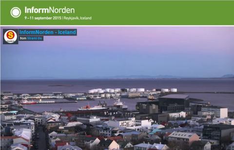 Consat Telematics på InformNorden Reykjavik 9-11 September 2015