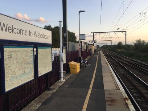 Waterbeach station September 2019