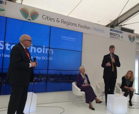 Stockholms ambitiösa klimatmål visas upp under FN:s klimatkonferens