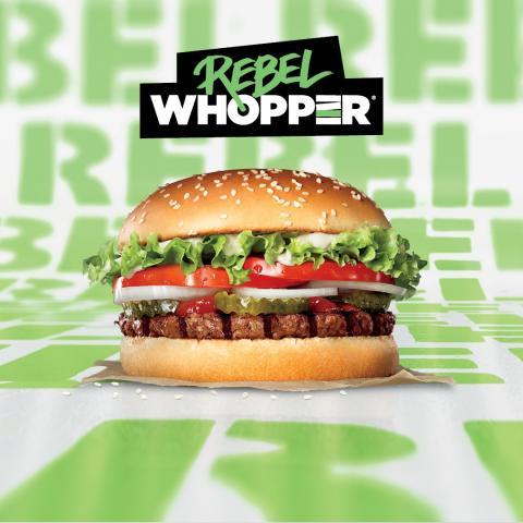 Tallink lanserar Rebel Whopper på Burger King® restaurangerna ombord