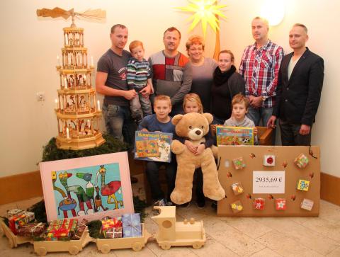 Geburtstagsfeier von Frank Naumann wird zur Spendenparty für Bärenherz