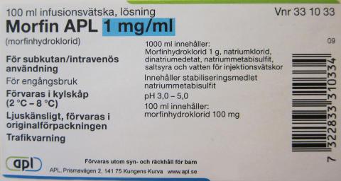 APL satsar på ökad patientsäkerhet genom tydligare märkning