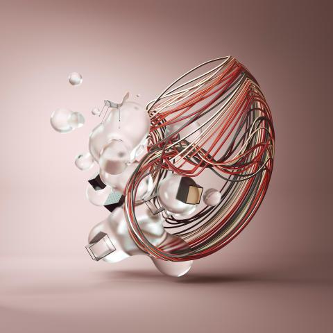 Jonas Diftype Lundberg - 3D-konst för EFG under Stockholm Furniture Fair