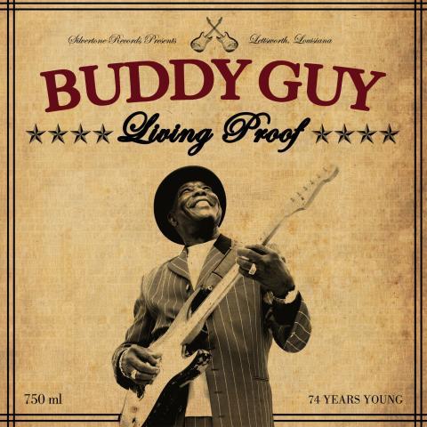 Blueslegenden Buddy Guy släpper nytt album