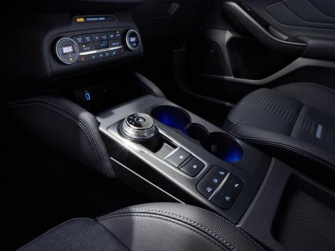 Ny Ford Focus Active interiør