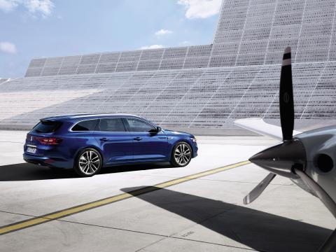 Renault Talisman nu som stationcar - en forventet bestseller i firmabilsklassen