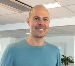 Peter Sjölin på Comfort-kedjan