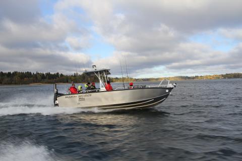 ALUKIN Pro Fishing 750 Broman Edition