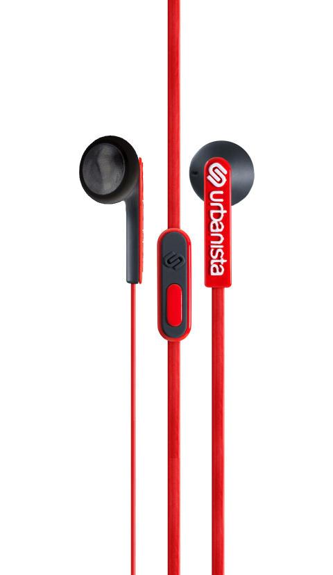 Urbanista Oslo Red Snapper - hanger earphone