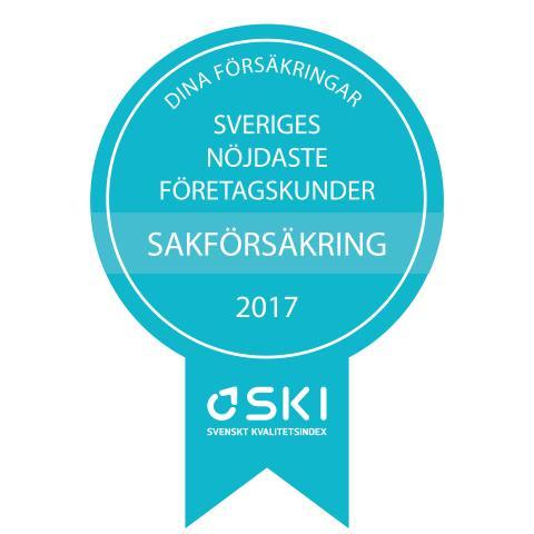 Medaljer SKI Försäkring 2017 sak B2B