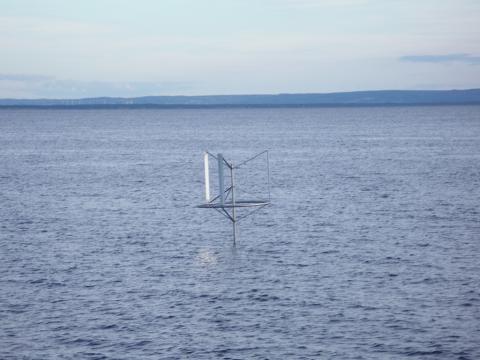 Svensk vindkraft går till havs med ett nytt tekniskt koncept