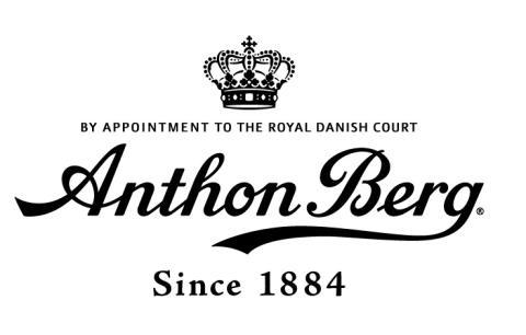 Anthon Berg logo sort