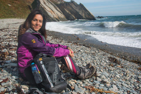 Ramblers Walking Holidays' Ambassador Julia Bradbury highlights natural beauty of The Isle Of Man in final episode of  'BRITAIN'S BEST WALKS'