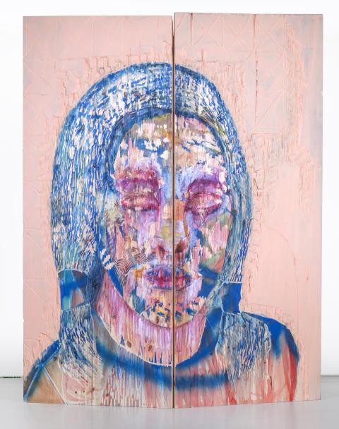 Camilla Vuorenmaa, Blue, 2014, Göteborgs konstmuseum