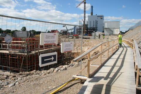 Sandvik 3 under byggtiden 2013