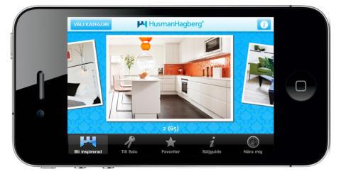HusmanHagberg inspirerar med ny app och mobilweb