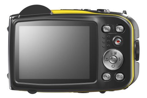 Fujifilm FinePix XP60 yellow back