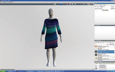 Epson 'Design to Garment' 3D garment simulation