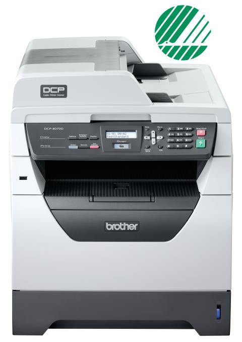 DCP-8070D Svanenmärkt